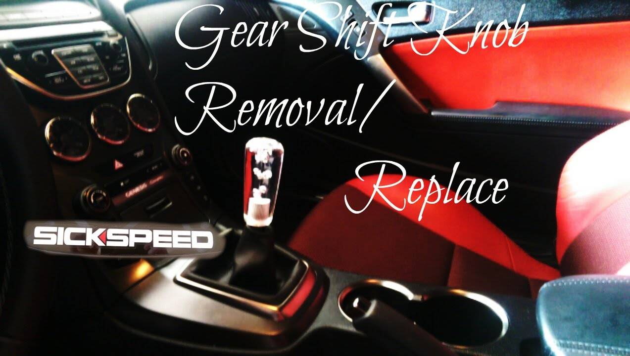 Shift Knob Install Removal Sickspeed 2013 Genesis Coupe Youtube