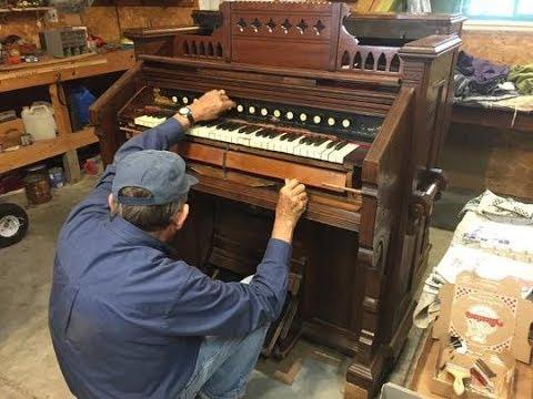 Nebraska Stories |  Antique Pump Organ