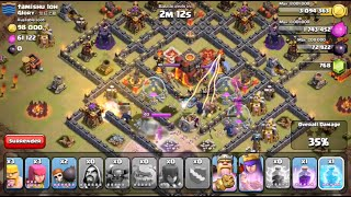 Clash of Clans - Two Heroic Clan War Attacks!