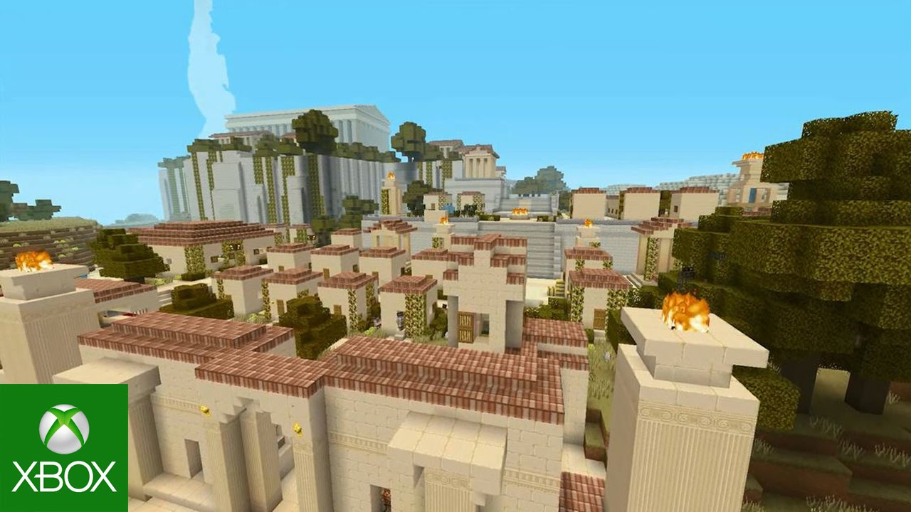 Greek Architecture Minecraft minecraft greek mythology mash-up pack - youtube