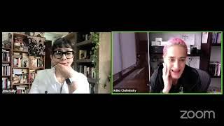 ¿Cómo chingaos sobrevivir a una pandemia? charla con Adina Chelminsky por Irma Gallo