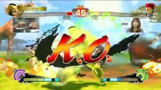 Kayo Police(C.Viper) VS Rose Kayo Police(C.Viper) VS Zangief Kayo P...