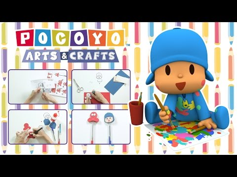 Pocoyo Arts & Crafts - Capuchones para bolígrafos | VUELTA AL COLE