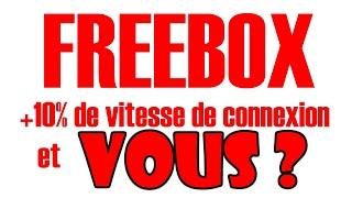 freebox améliorer son debit sa connexion test des modes