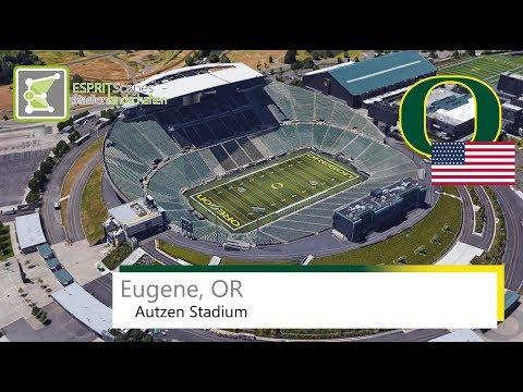 Autzen Stadium (Eugene) ● Oregon Ducks ● 2015
