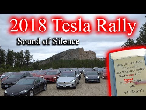 2018 Tesla Sound of Silence Rally & Road Trip!