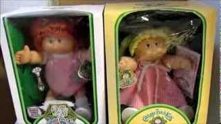 Stef's Collectible Id's Episode 1 - How To Identify Vintage Coleco Cabbage Patch Dolls
