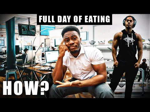 How To EAT and TRAIN With a 9 to 5 Job | Full day of Eating Vlog