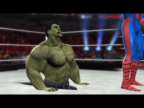 HULK VS SPIDERMAN - I Quit Match