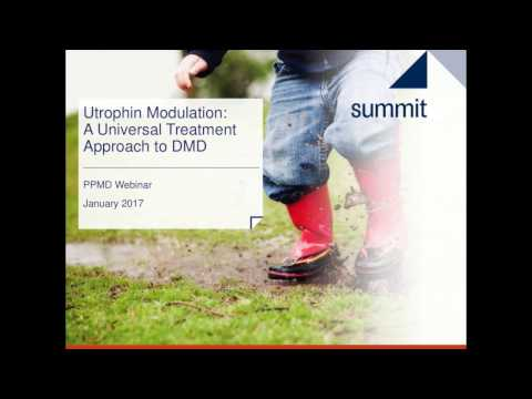 [Webinar] Summit's Utrophin Modulation Program - January 2017
