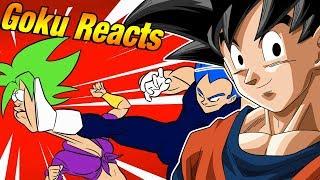 Goku Reacts To VEGETA VS KEFLA, Dragon Ball Super