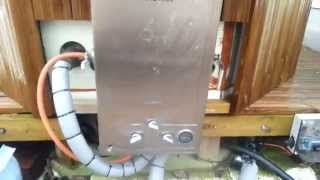 Hot Tub With Instant Gas Water Heater & Arduino Controlled, Kylpytynnyri Kaasukamina