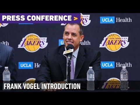 Frank Vogel Introductory Press Conference