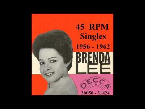 Brenda Lee - Decca 45 RPM Records - 1956 - 1962