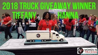 Women In Trucking 2018 Truck Winner - Tiffany Hanna (Highway Diamond)