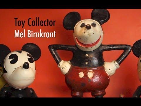 Toy Collector Mel Birnkrant