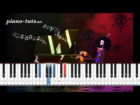 One Piece - Bink's Sake Piano Tutorial