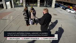 Halifax's International Airport is named after which former Canadian politician? | Outburst
