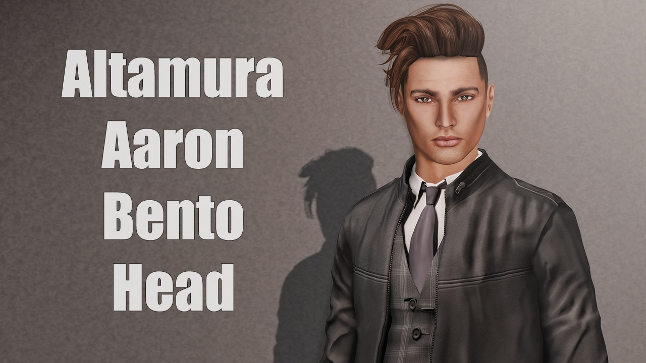 Altamura Aaron Bento Mesh Head in Second Life