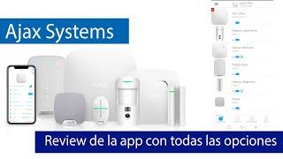 Ajax Systems - Review completa de la aplicación de administración de esta alarma profesional