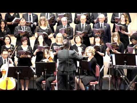 """""""Come, Touch the Robe"""" Calgary Central SDA Choir"""