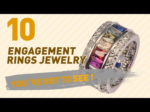 Engagement Rings Jewelry Top 10 Collection // UK New & Popular 2017
