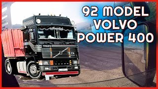 92 MODEL VOLVO POWER 400 İLE ÇALIŞMAK
