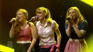 Poxrucker Sisters & The Baseballs - Herzklopfn / Never Ever (live @ Amadeus, AAMA 2016)