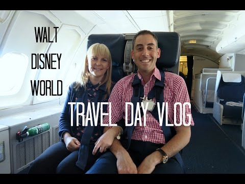 Travel Day to Walt Disney World - September 2016 Part 2 Fly to Miami