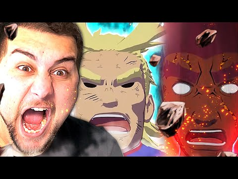 NO CONTEST!! MY HERO ACADEMIA VS NARUTO?! | Kaggy Reacts to All Might vs Might Guy DEATH BATTLE