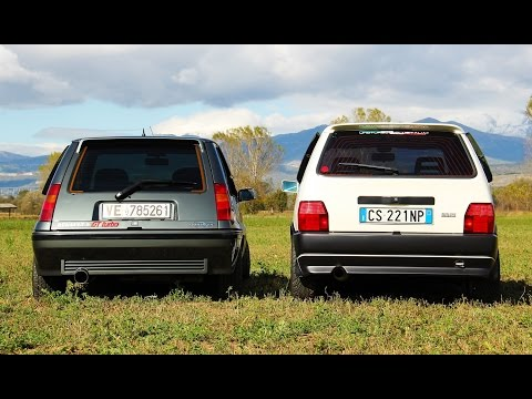 Fiat Uno Turbo vs Renault 5 Gt Turbo – Davide Cironi drive experience (ENG.SUBS)