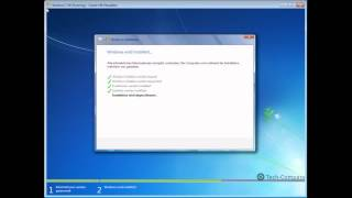 Windows 7 neu installieren (Deutsch / German) | Simple HD Video Tutorial by Tech-Compass