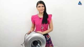 видео Вентилятор накладной Soler & Palau Decor 300CH