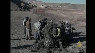 أرشيف- الجزيرة ترصد حطام الطائرتين الأميركيتين بأفغانستان