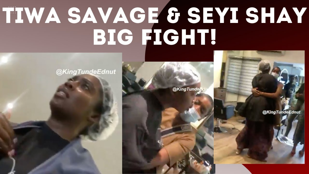 TIWA Savage and Seyi Shay FIGHT Dirty Over WIZKID? | The Messy Details | Victoria Kimani - YouTube