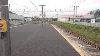山陽本線   普通列車115系D-17編成+D-20編成 鴨方駅到着
