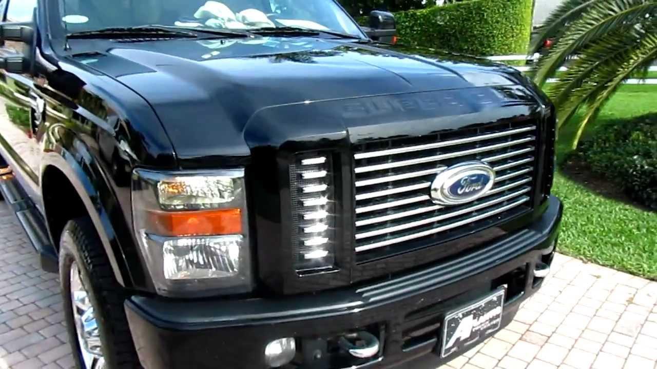 Pre-owned 2010 ford f-350 super duty harley-davidson 6. 4l v8 4x4.