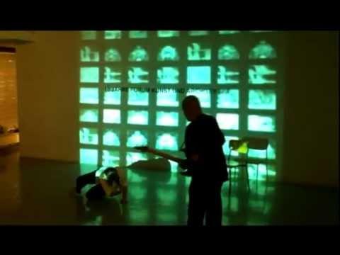"""Andre Yuen - Frank Schablewski - Eberhard Kranemann - Ina Sladic 2012 """"Ledahaut"""" NEW MEDIA ART GROUP"""