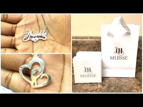 Review: Muisse Personalized Jewelry