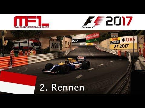 F1 2017 - Mulchian-Liga - Classic Cars - 2. Rennen - Monte Carlo/ Monaco bei Nacht