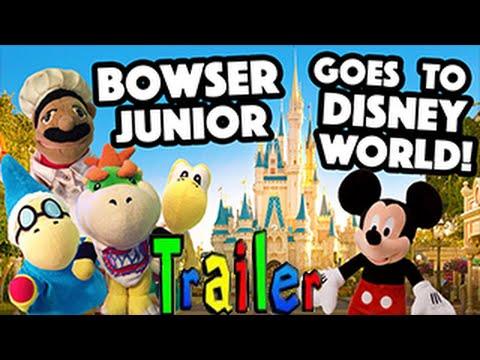 SML Trailer - Bowser Junior Goes To Disney World!