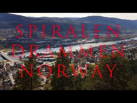 INCREDIBLE NORWAY   DRAMMEN SPIRAL   NORWAY BY DRONE