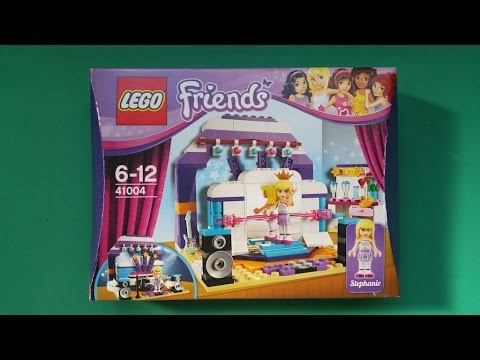 LEGO FRIENDS: STEPHANIE'S REHEARSAL STAGE - 41004 - YouTube