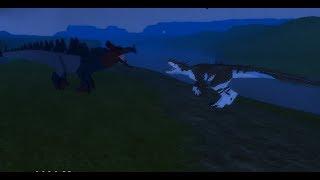Roblox - Dino Sim Battles - Megavore vs Avinychus