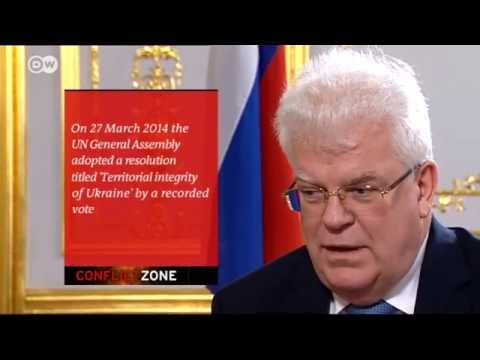 Tough diplomacy for Russia's EU Ambassador | Conflict Zone