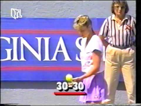1989 Boca Raton Final Steffi Graf vs Chris Evert