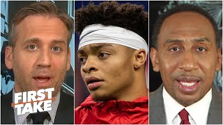 Stephen A. and Max react to Justin Fields' petition for an Ohio State football season   First Take