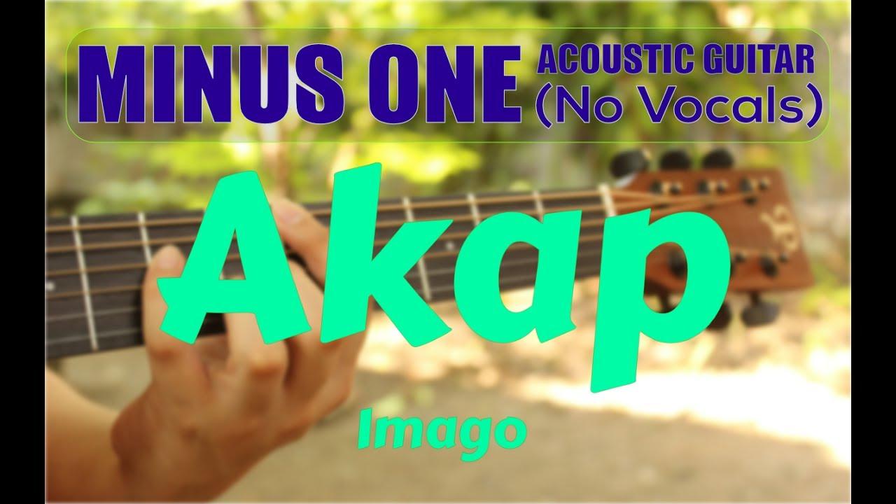 Imago Akap Acoustic Minus One Cover Youtube