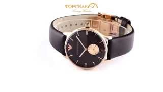 emporio armani ar0383 watch full hd