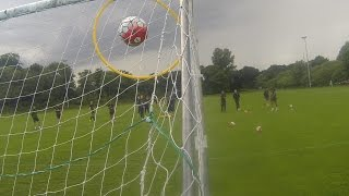 Everton Goalkeeper Scores AMAZING 'Rabona' Goal In Training